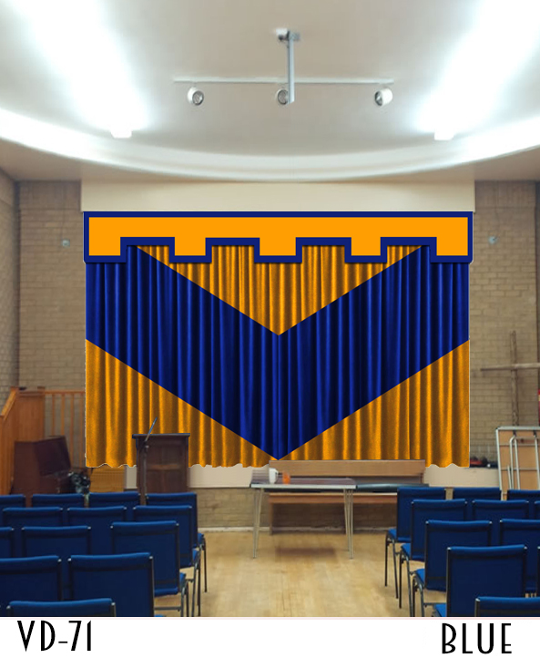 Decorative Stage Curtains