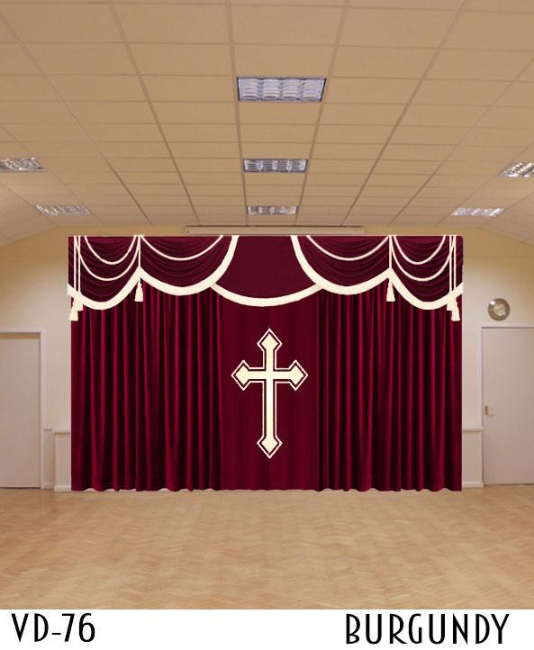 Curtains For Church Sanctuary Drapes Altar